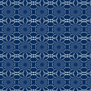 Medium Navy Pattern