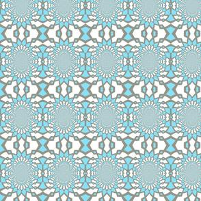 Medium Blue Pattern