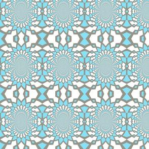 Large Blue Pattern
