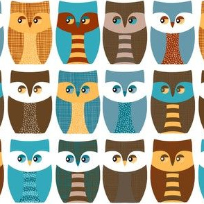 """2"""" owls, owls, and more owls"""