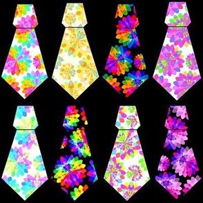 Multicoloured Neckties [set A18]