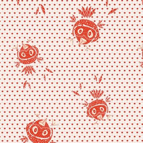 Funny birds (red)
