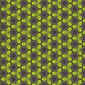Yellow & purple pattern