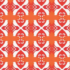 Tangerine Aviary