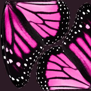 Pink Monarch Butterfly Wings