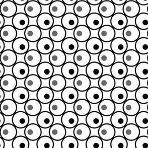 Circle and a Dot - White