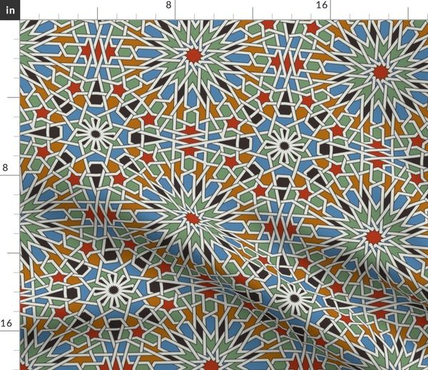 Moroccan Tile Spoonflower