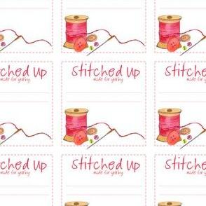 Fabric Label Pink - swatch kit