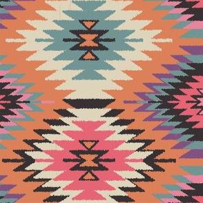 Navajo Dreams-Orange