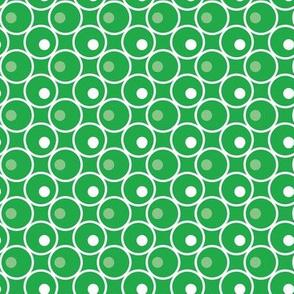 Circle and a Dot - Green