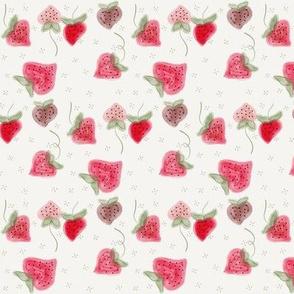 Strawberries Watercolor