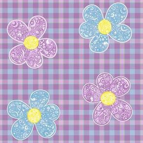 Bandana Summer Flowers