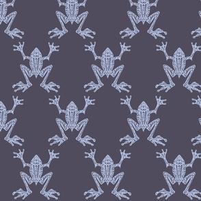 Fabulous Frogs - Midnight Blue (Original version)