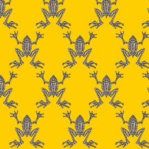 Fabulous Frogs - Bold Yellow (original version)