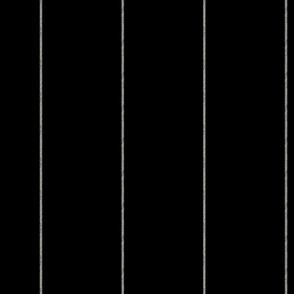 Custom 5in Ticking Stripe on Black Background
