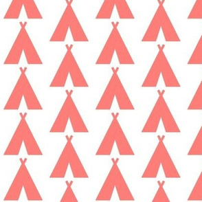 Teepees Coral