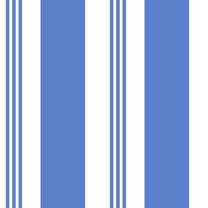 Chair Stripe Medium Blue