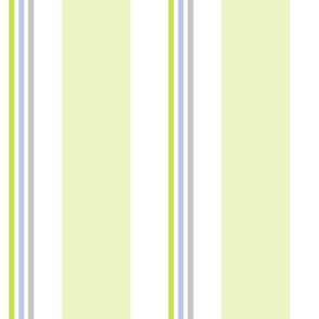 Chair Stripe Misty Citron