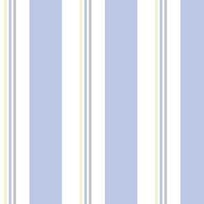 Chair Stripe Good Morning Blue