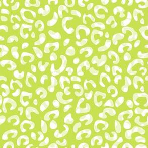 Cheetah Two Tone Green