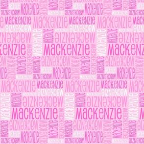 Personalised Name Design - Pink Pink Pink