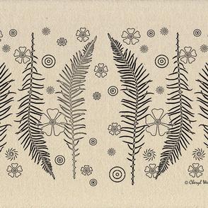 Whimsical Forest Ferns