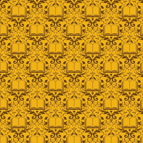 Book Damask - Gold