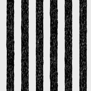 Burton's Vertical Stripes - lt gray