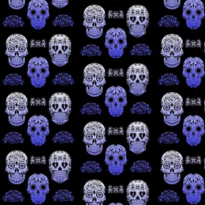 Sugar Skull Purple