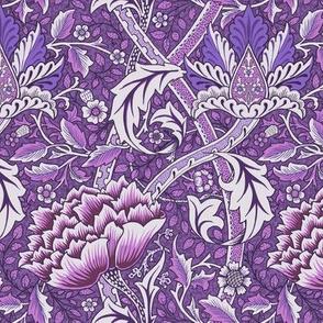 William Morris Windrush Purple