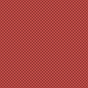 Chill Faux Plaid Red