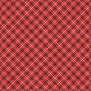 Chill Plaid in Red