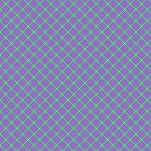 Chill Faux Plaid Purple