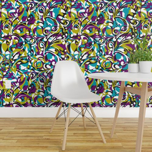 Wallpaper Hippie Camouflage Jungle Fever