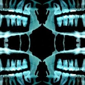 Spooky Skeleton Teeth