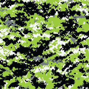 Zombie Green Digital Camo