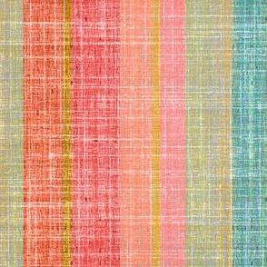 Southwest Stripes in linen