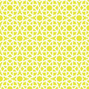 Marrakesch mustard-white XL