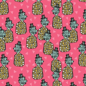 pineapple // pineapples pink sweet fruit fruits tropical summer