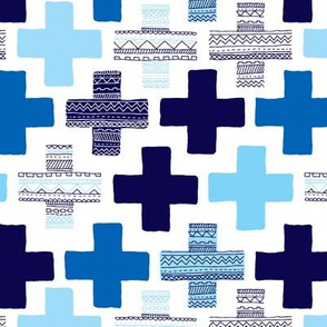 Plus plus geometric modern patterns