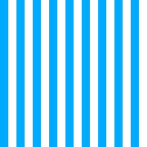 nautical stripes mid blue