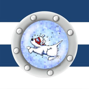 Nautical Westie Diver