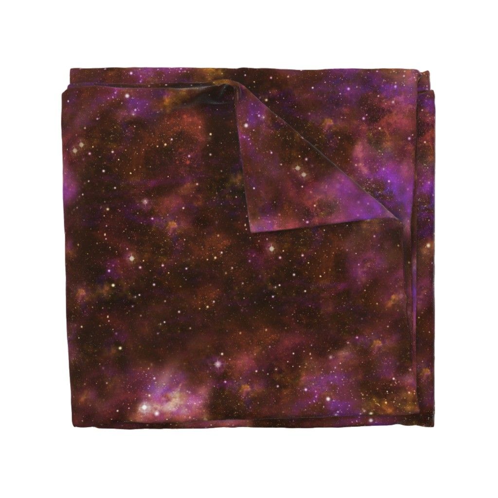 Wyandotte Duvet Cover featuring Celestial Nebula by cellesria
