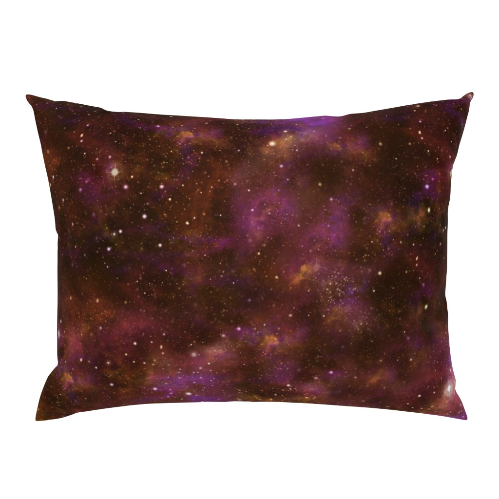 Campine Pillow Sham featuring Celestial Nebula by cellesria