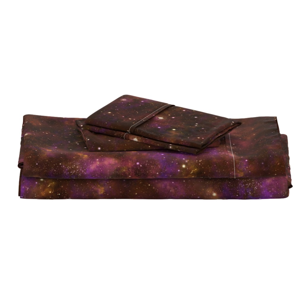 Langshan Full Bed Set featuring Celestial Nebula by cellesria