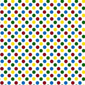 School Days Polka Dots