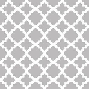Lattice Gray on white - Small