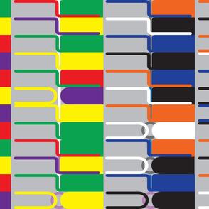 wormup binary code african pattern