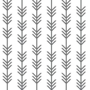 charcoal arrow stripes