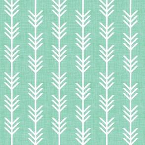 water linen arrow stripes